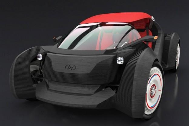 44 小時印出一輛車!3D 列印車今年開賣