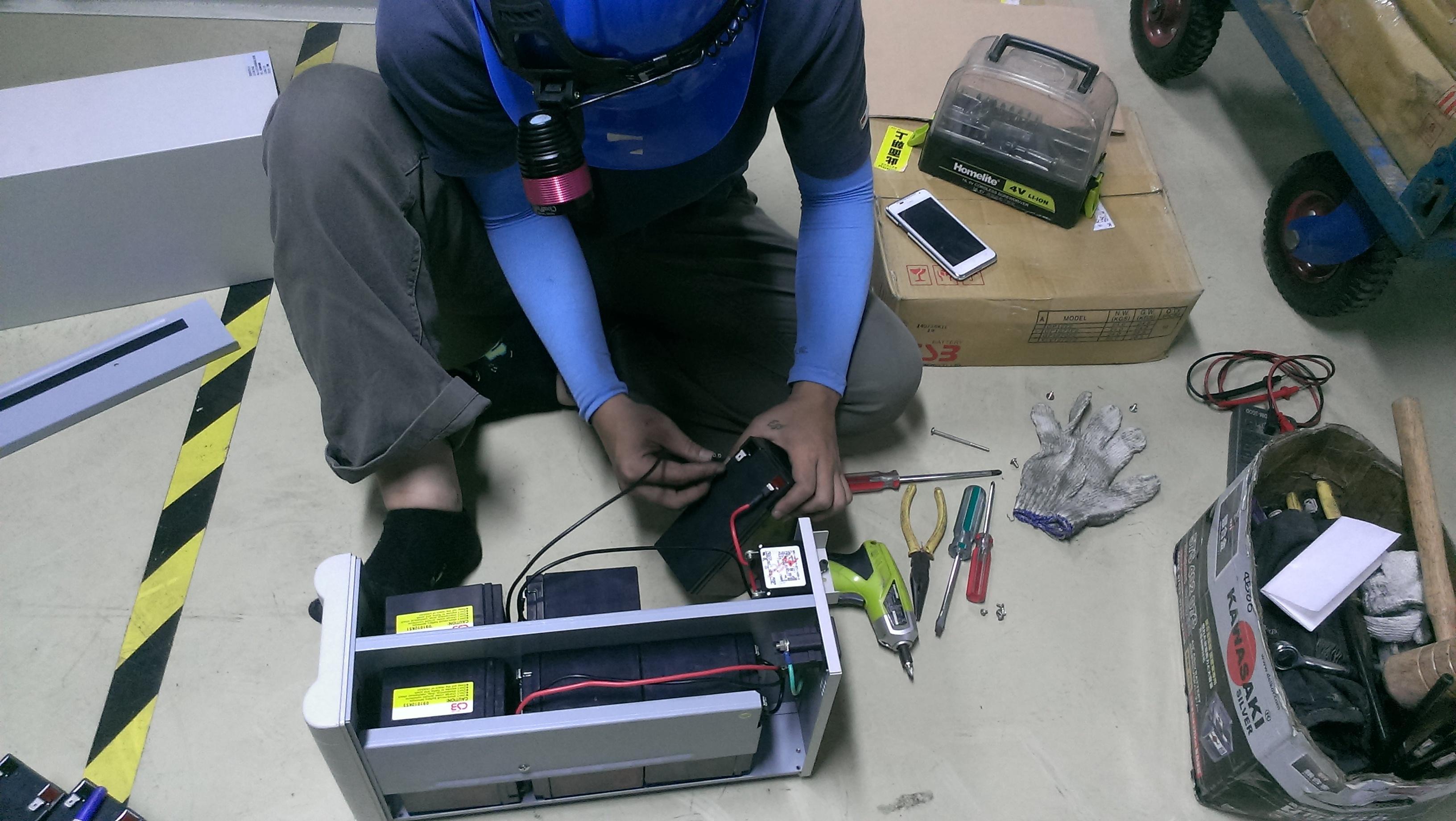 巴特力夏季UPS 不斷電系統電池免費健診