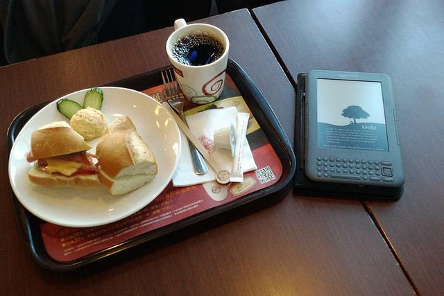 Kindle配早餐